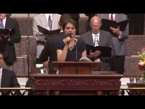 I Could Not Do Without Thee given by Lydia Scoggins and Temple Choir