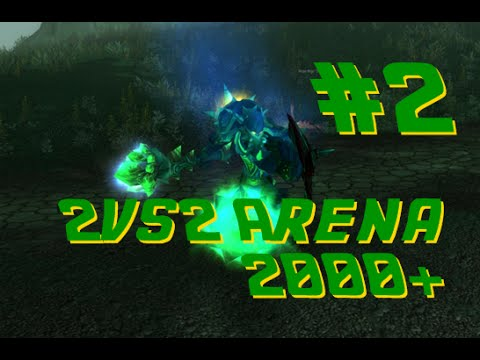 WoW PvP Arena S3 2vs2 Warri/Druid VS Warri/Pala LvL70 2.4.3 Server
