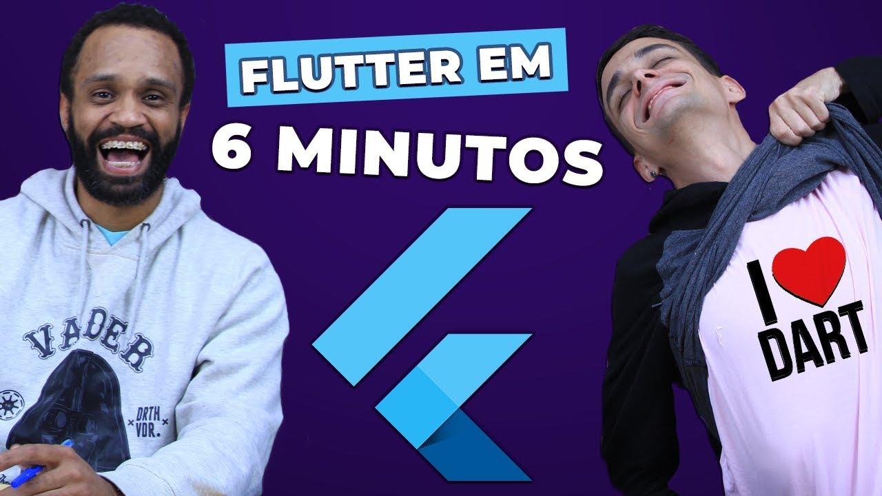 FLUTTER EM 6 MINUTOS: Tudo Que Você Precisa Saber para Começar!