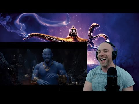 Disney's Aladdin Special Look TRAILER REACTION!!!