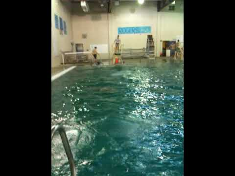 Rogers high school swim class youtube for Rogers high school swimming pool