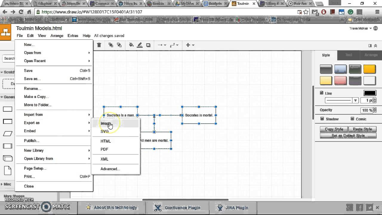 Using Flowchart Maker And Adding Flowcharts To A Google Doc Youtube