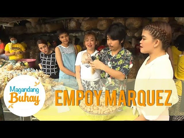 Empoy recalls his time working in a chicharon business   Magandang Buhay