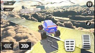 Monster Truck Mega Ramp Stunt Racing Fever - 4x4 Monster Truck Driver - Android gameplay