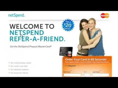 Netspend Referral Pays Free Referral Bonus Netspend Proof You