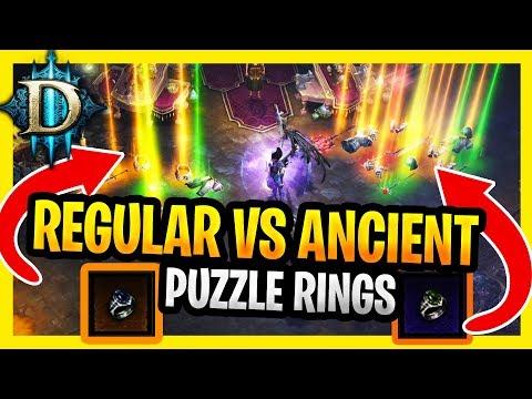 Diablo 3 Puzzle Rings Ancient Vs Non Ancient Puzzle Ring Results D3 Puzzle Ring #BuffPuzzlering