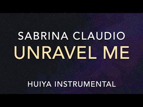 Instrumentalkaraoke Sabrina Claudio  Unravel Me +Lyrics