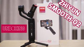 Zhiyun Smooth Q2 Smartphone Gimbal Q 2 terbaru dari Zhiyun Smooth 4 Bukan Moza Mini Mi