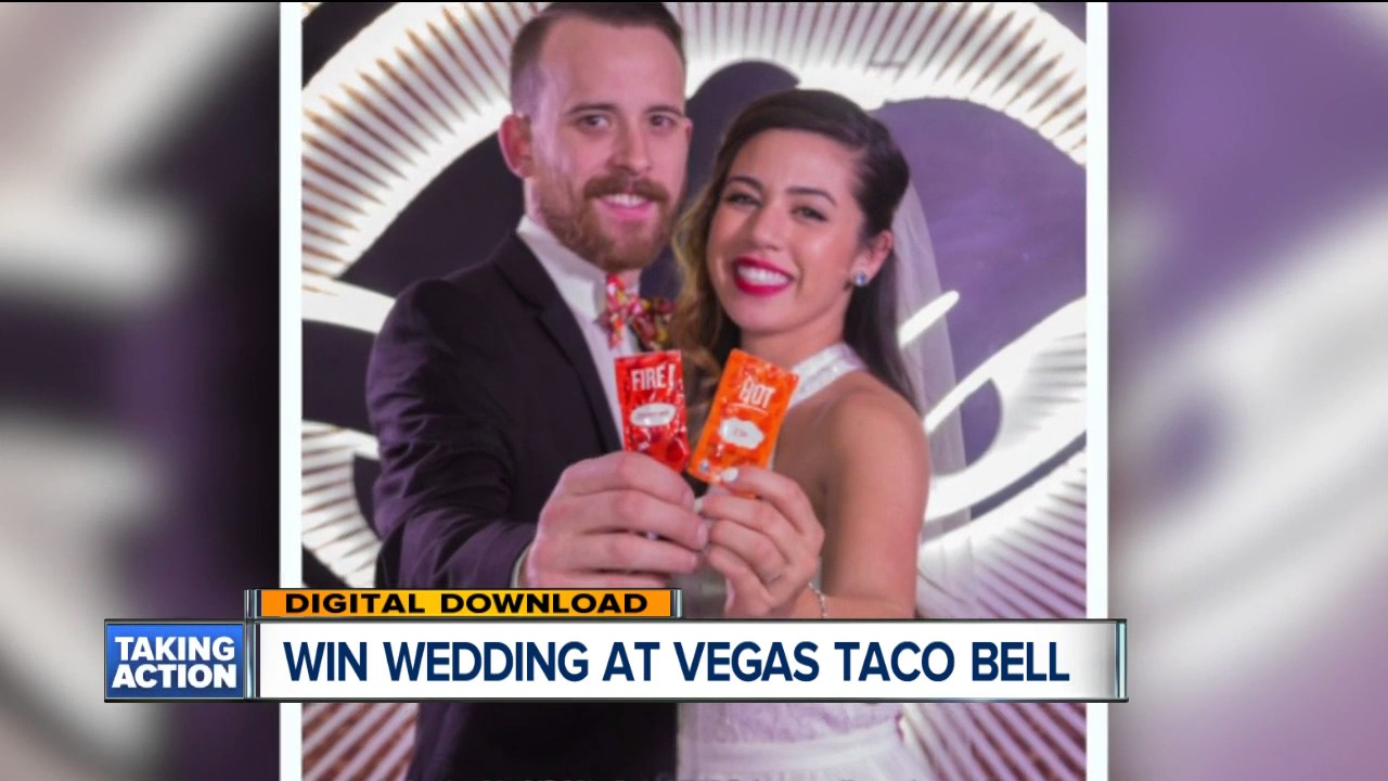 Taco Bell Wedding.How You Can Win A Wedding At Las Vegas Taco Bell
