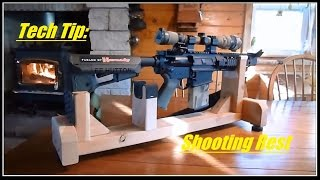Tech Tip: Shooting Rest (lead Sled) Diy....