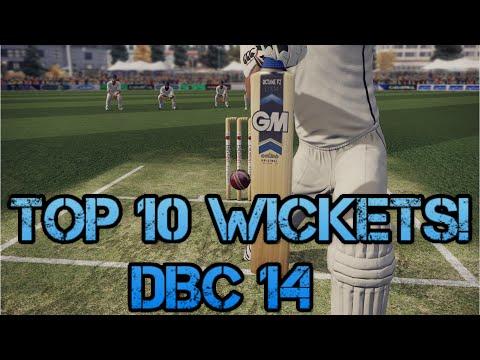 Top 10 Best Wickets Don Bradman Cricket 14