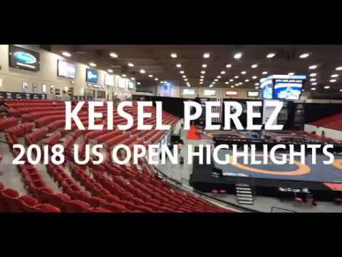 Keisel Perez 2018 US Open Wrestling Highlights