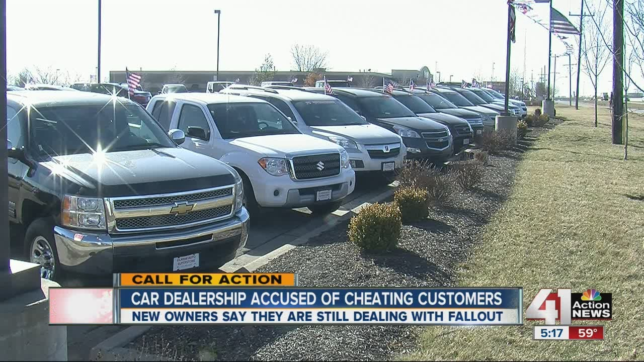 A car dealership deals with the fallout caused by previous owners