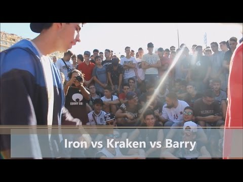XANDRITA VS KRAKEN VS BARRY Filtros Clasificatoria FullRap VLC VS MADRID