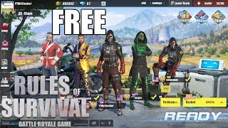 Rules of Survival - HOW TO GET ANY SUIT FREE!