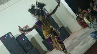 Best classical performance by a girl.. sankranti events guntur!!