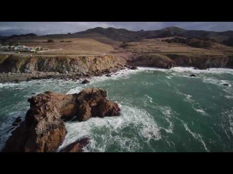 Aerial California - Drone Over Napa Valley and Bay Area