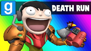 Gmod Deathrun Funny Moments - Escaping Planet Urt