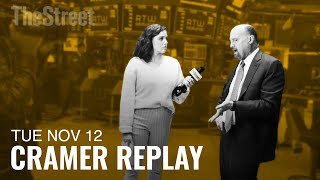 Jim Cramer on Trump's Speech, Big Tech, Disney+, and CBS