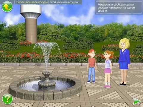 законы физики фонтан своими руками без насоса