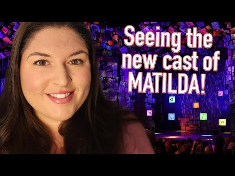 The New MATILDA Musical London Cast! 💙✨ REVIEW