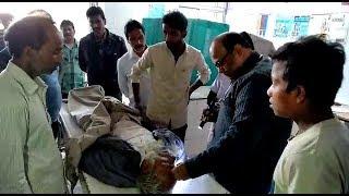 islampur accident l নিজের ট্রাক্টর উল্টে মৃত্যু বৃদ্ধ চালকের
