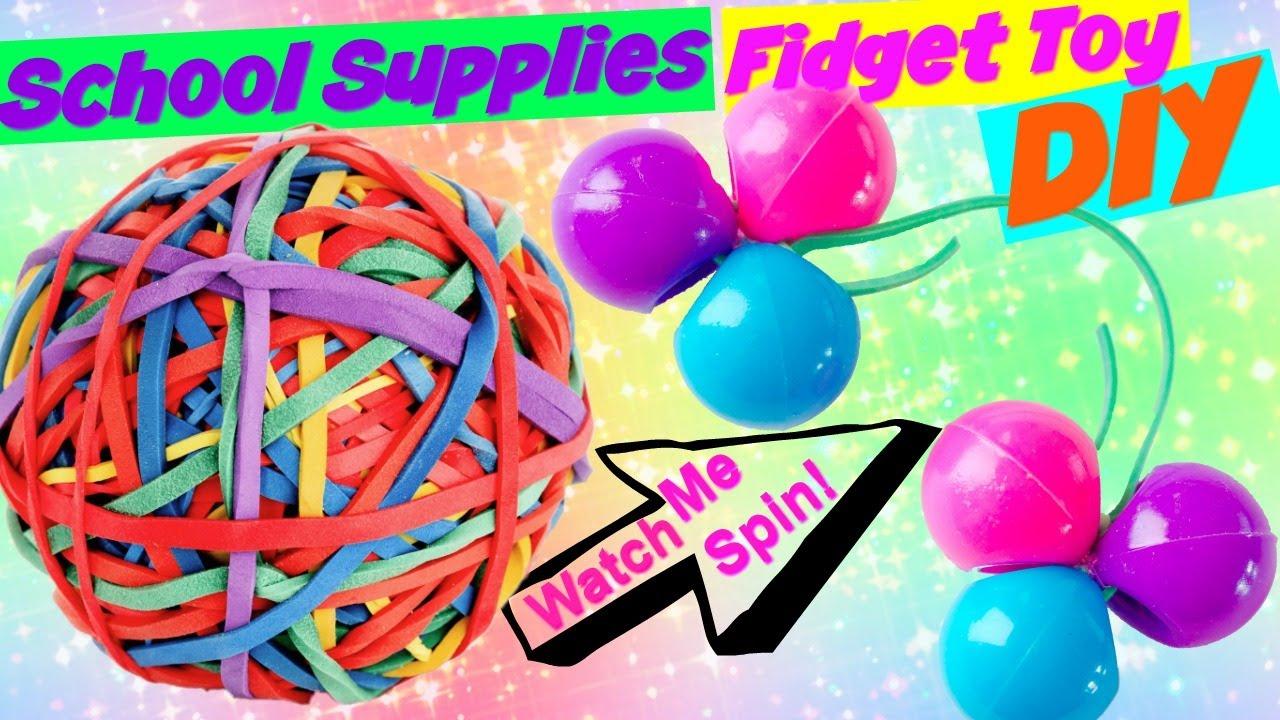 Fidget Toy Diy Makeitmonday Making School Supplies Fidget Toy Diy