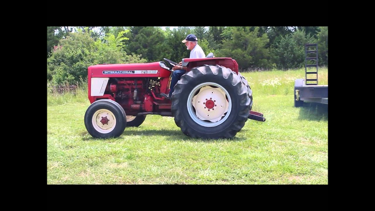 Ih 574 Tractor : International tractor for sale sold at auction
