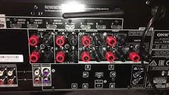 Onkyo TX-NR646 Unboxing und kleiner Test