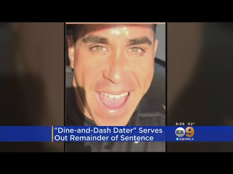 Dine-And-Dash Dater Turns Himself In For Jail Sentence