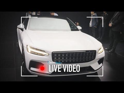 Polestar 1, la super elettrica di Volvo vista dal vivo a Shanghai