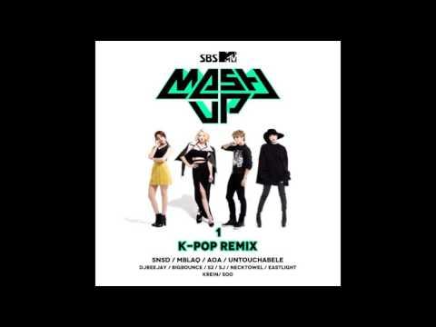 GEE GIRLS´GENERATION SNSD (DJ BEEJAY, NECK TOWL Remix) MTV MASH UP