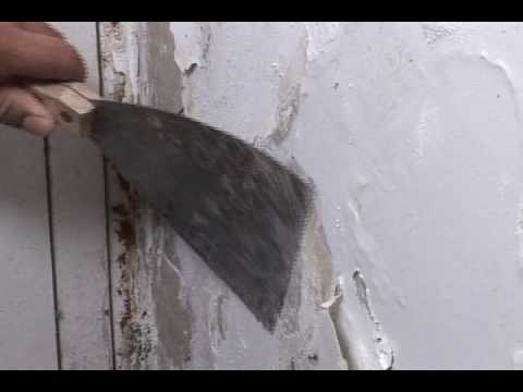 C mo reparar paredes con filtraciones de agua doovi - Como arreglar una pared con humedad ...