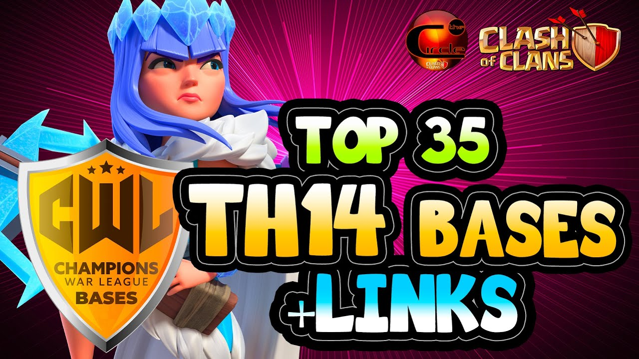 BRAND NEW TOP 35 TH14 WAR BASE WITH LINK 2021 #4