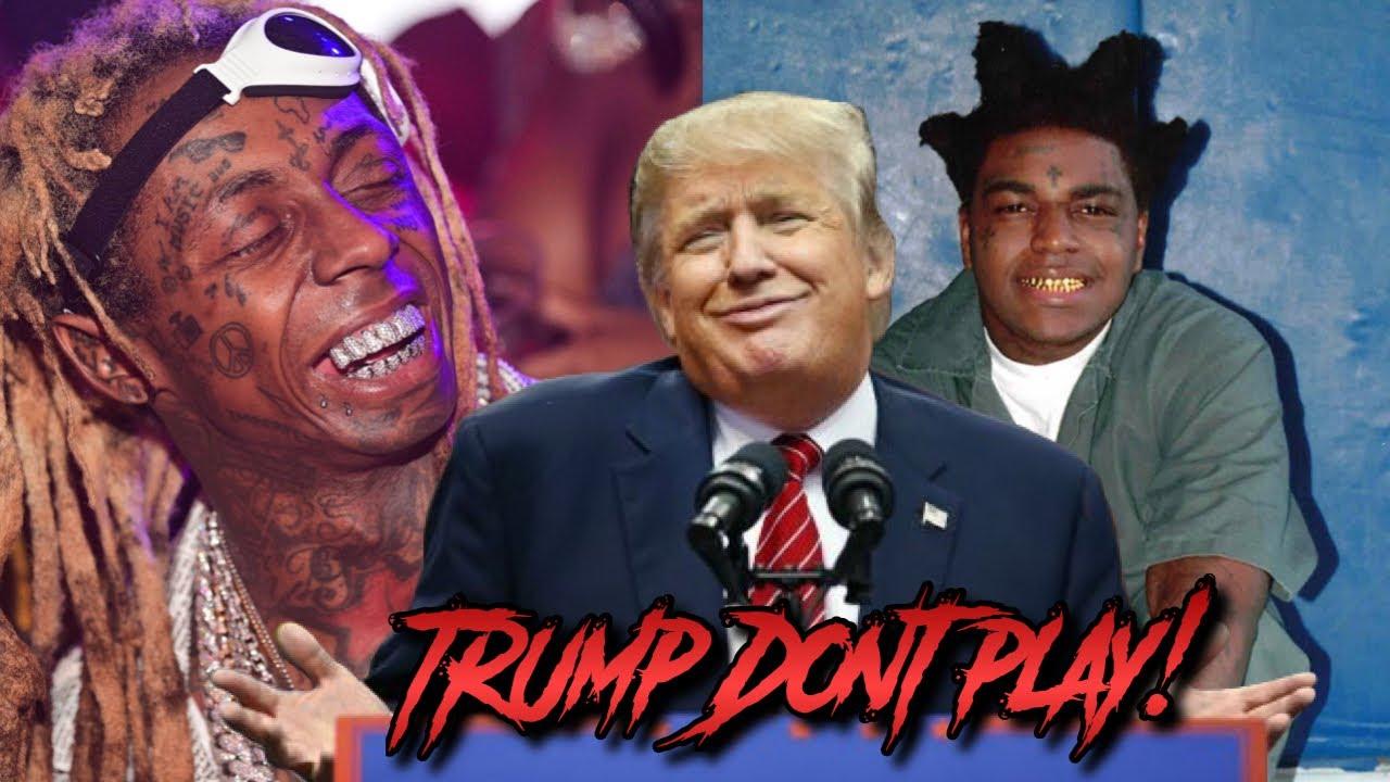 Donald Trump Pardons Lil Wayne, Commutes Sentence of Kodak ...