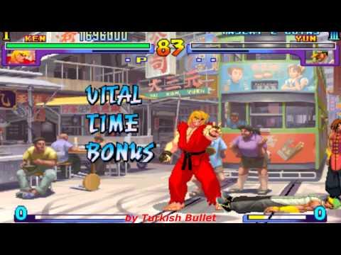 Street Fighter III: New Generation (Arcade) - (Ken Masters   Hard Difficulty)