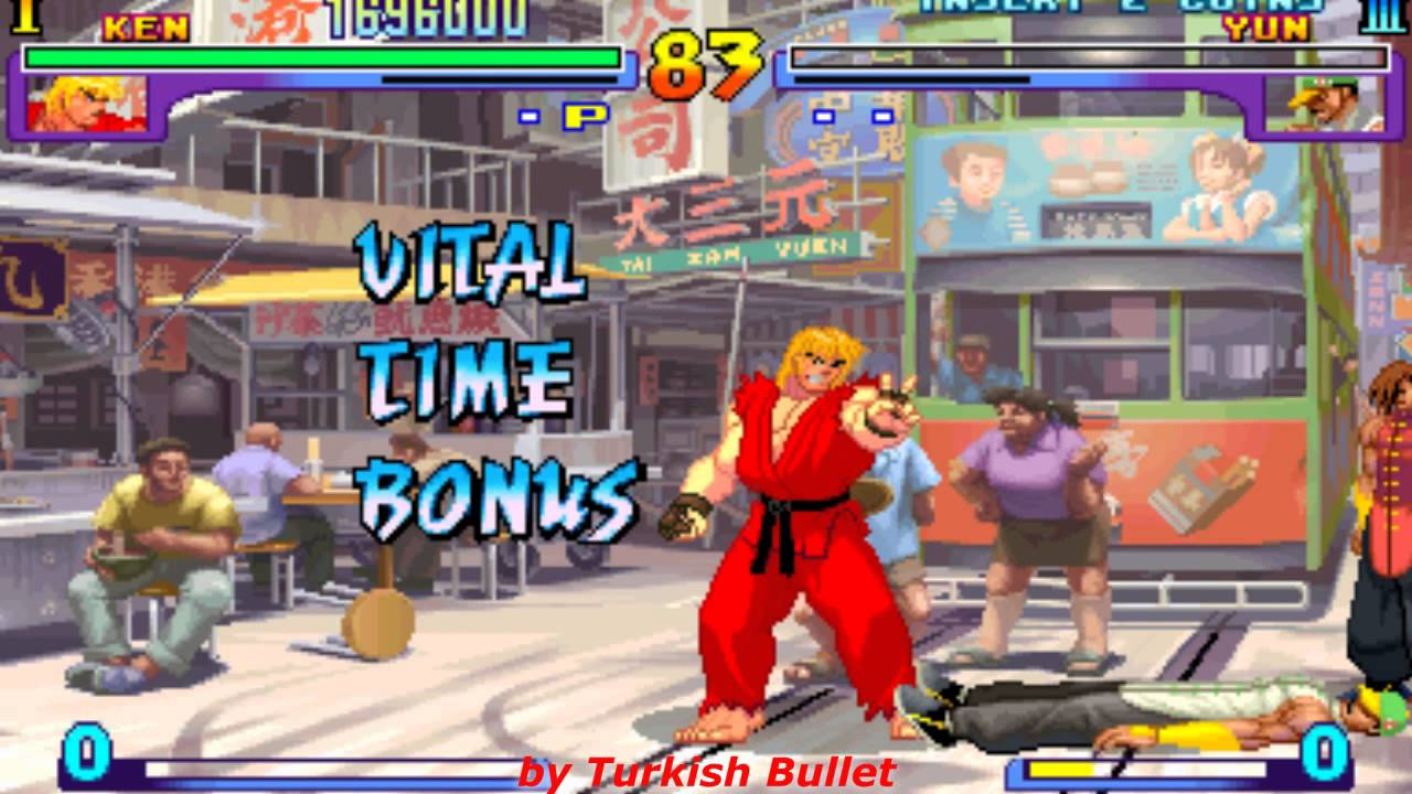 Street Fighter III: New Generation (Arcade) - (Ken Masters ...