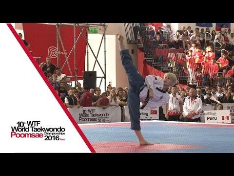 Under 30 Individual Female Final | Marcela CASTILLO TOKUMORI (PER) Vs Elif Aybuke YILMAZ (TUR)
