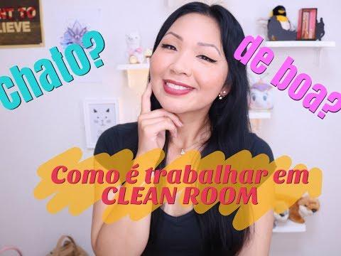 COMO É TRABALHAR EM CLEAN ROOM | DICAS