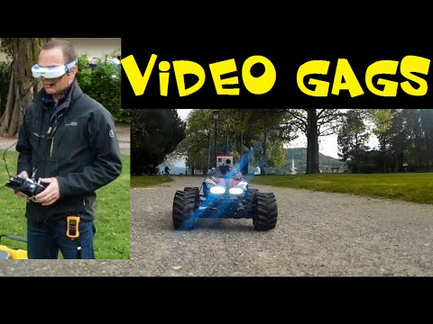 VOICE ON FPV RC CAR – VIDEO GAGS – FUNNY JOKES