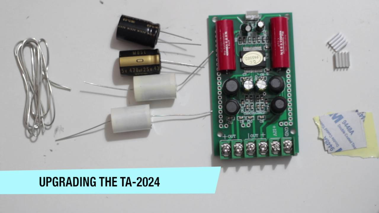 Wonderbaarlijk DIY T-amp(TA-2024) digital amplifier upgrade - YouTube RD-31