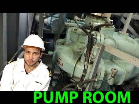 Pump Room Of Oil Tanker