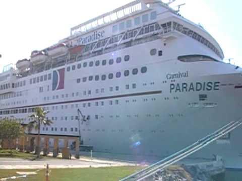 Paradise Carnival Cruise Ship Youtube