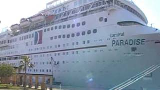 Paradise Carnival Cruise Ship