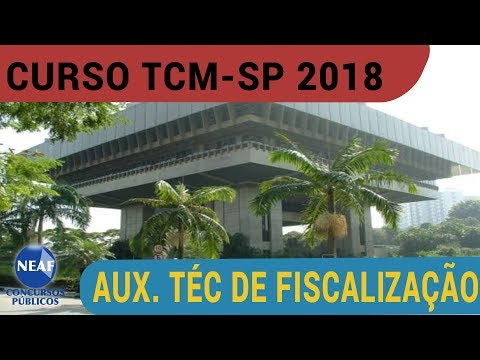 TCM SP 2018 Auxiliar Técnico de Fiscalização