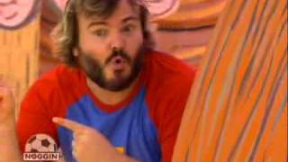 Jack Black on Yo Gabba Gabba!