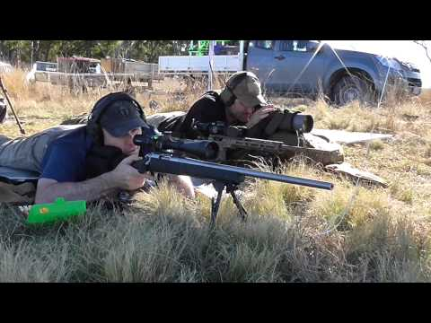Remington 700 MIl Spec 5R .308 Long Range Shooting
