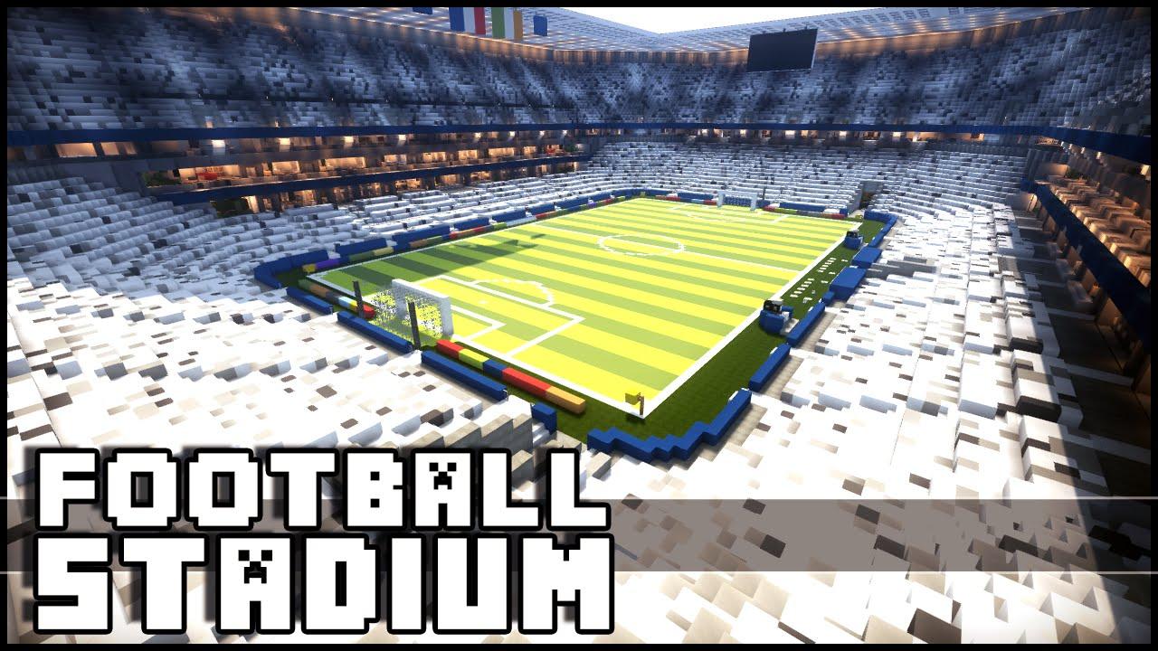 minecraft football stadium download euro 2016 youtube