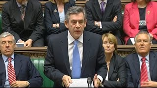 Gordon Brown's first Prime Minister's Questions: 4 July 2007