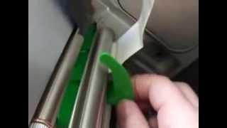 Настройка принтера этикеток Datamax(Настройка принтера этикеток Datamax, очистка счетчика ошибок, установка ленты., 2015-04-21T05:44:13.000Z)